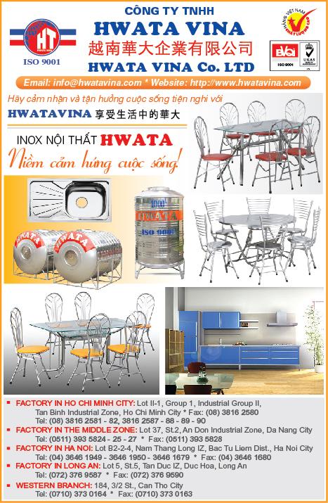 NỘI THẤT - THẦU THIẾT KẾ & TRANG TRÍ HWATA VINA 38162587