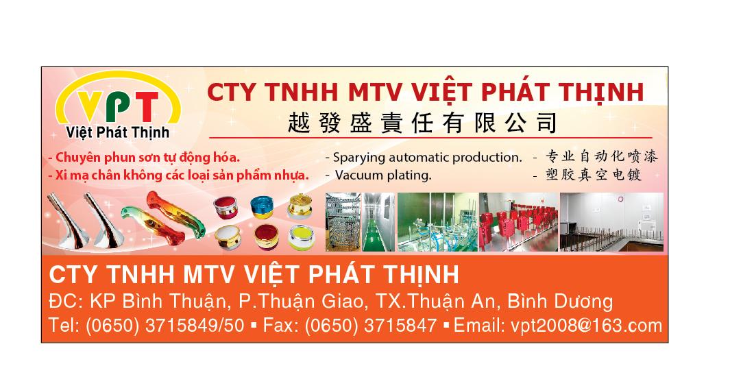 Xi mạ Việt Phát Thịnh - Xi mạ chân không, xi mạ chân không ngành nhựa, phun sơn tự động hóa