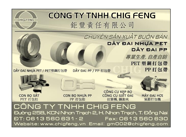 Cơ khí - Gia công & Sản xuất CHIG FENG - Máy đóng đai cầm tay xài khí - máy đóng dây đai - con bọ đóng đai - xe đẩy