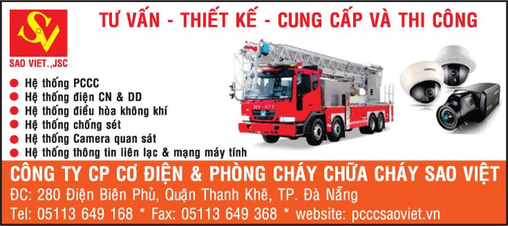 Công ty Cổ phần cơ điện và phòng cháy chữa cháy Sao Việt