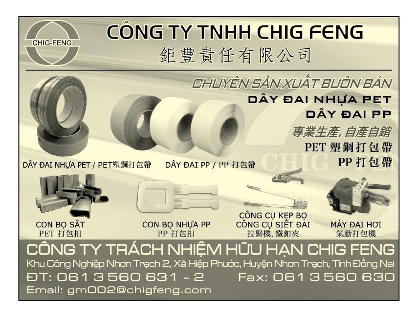 BAO BÌ SẢN XUẤT BUÔN BÁN CHIG FENG 61 3560631