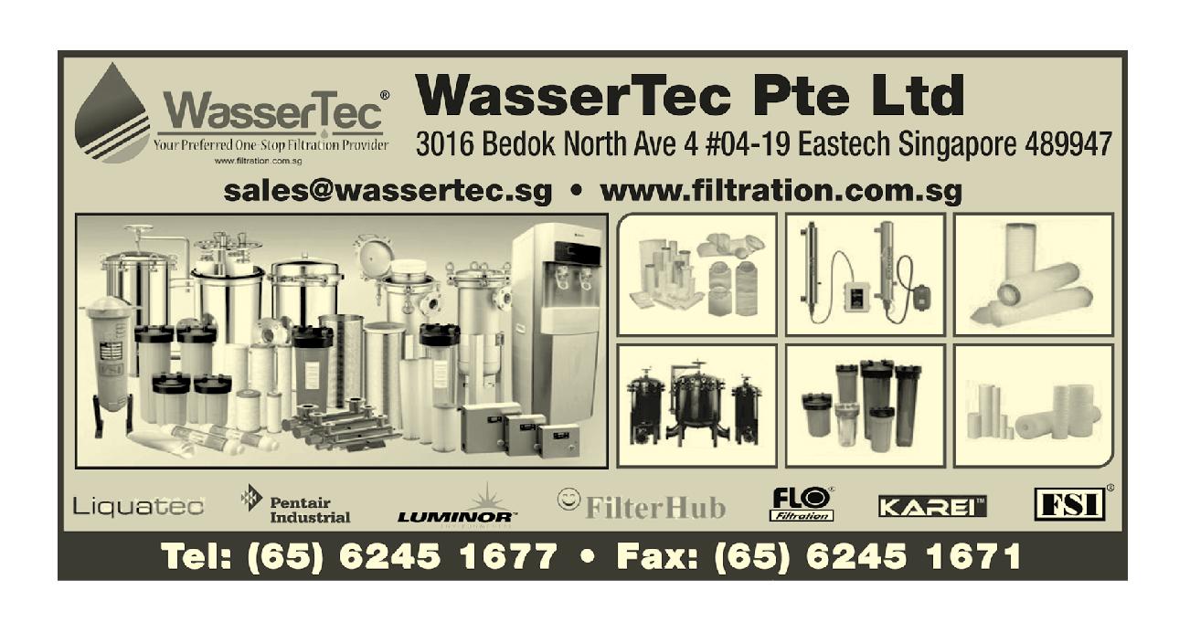 NƯỚC THIẾT BỊ LỌC NƯỚC WASSERTEC PTE LTD 65 62451677