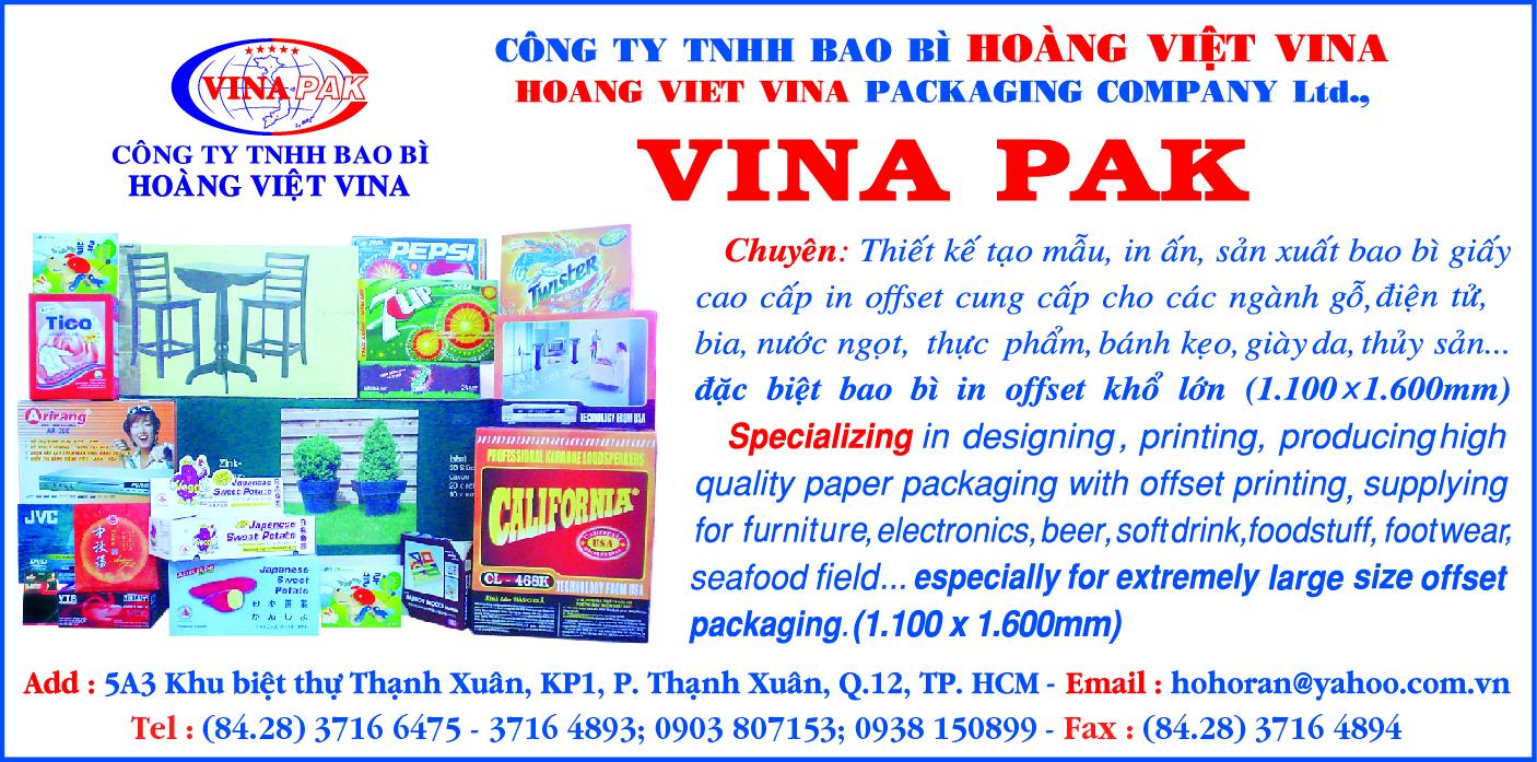Bao bì - Dịch vụ Hoàng Việt ViNa - Bao bì in offset khổ lớn - thiết kế tạo mẫu bao bì - in bao bì