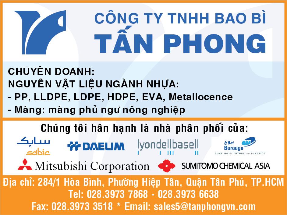 CATALOG CTY TNHH BAO BÌ TẤN PHONG