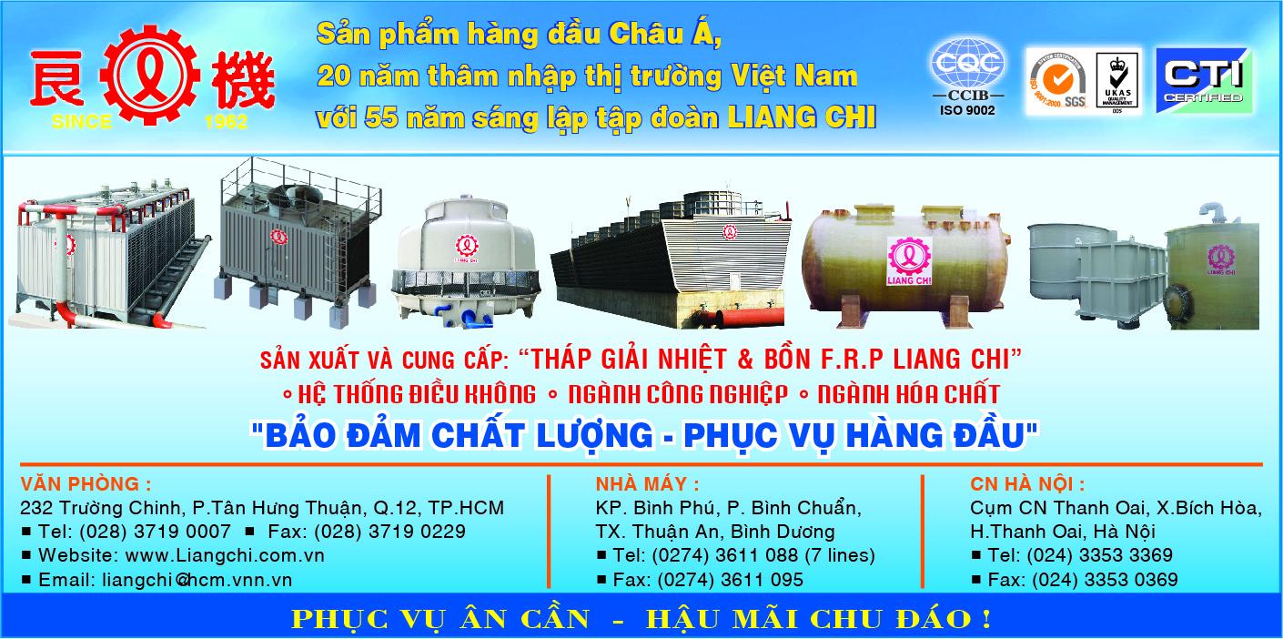 Hóa chất - LIANG CHI II - Hóa chất tẩy rửa - Hóa chất công nghiệp - Hóa chất tháp giải nhiệt,tấm tản nhiệt; bồn tự hoại; bồn giản nỡ