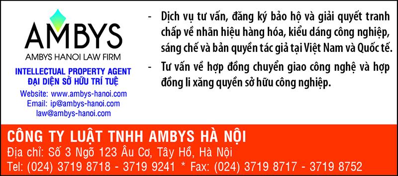 CATALOG CÔNG TY TNHH AMBYS